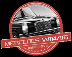 MERCEDES 200 / 280E - 8 (W114/115) - (1968-1976)