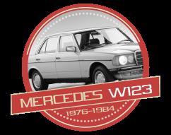 MERCEDES 200 / 280 E - (W123) - (1976-1984)