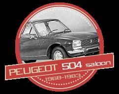 PEUGEOT 504 Saloon (1968-1983)